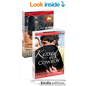 Kissed by a Cowboy / Out of the Flames: a Redbud Press collection (Hometown Romance)