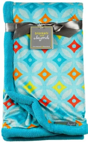Blankets and Beyond Colorful Baby Blanket - 1
