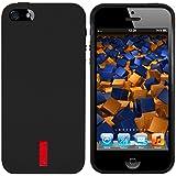 mumbi TPU Silikon Schutzhülle iPhone 5 5S Hülle schwarz
