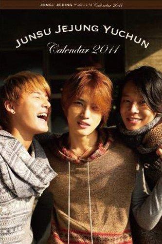 JUNSU JEJUNG YUCHUN 2011年 カレンダー