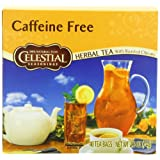 Celestial Seasonings Caffeine-Free Herb Tea with Roasted Chicory, 40-Count Tea Bags (Pack of 6)