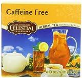 Celestial Seasonings Caffeine Free Herbal Tea with Roasted Chicory, 40 Count (Pack of 6)