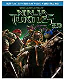 Teenage Mutant Ninja Turtles (Blu-ray 3D + Blu-ray + DVD + Digital HD)