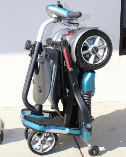 EV Rider Transport – Demo Model – Foldable Travel Senior Electric Mobility Scooter