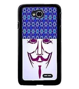 PrintDhaba Vendetta D-3747 Back Case Cover for LG L70 (Multi-Coloured)