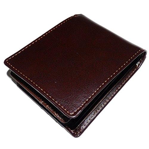 デキるビジネスマンの必須アイテム!牛革二つ折り財布 [ マクラーレン 600 ] バレンタインデー 財布 メンズ (ダークブラウン)