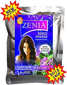 100g Pure USAWHR Indigo Powder Indigoferra Tinctoria To dye Hair Black Naturaly NO PPD