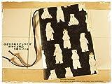 ほぼ日手帳対応カバーカズンサイズ A5手帳カバー くまの王子様 クマ 白くま