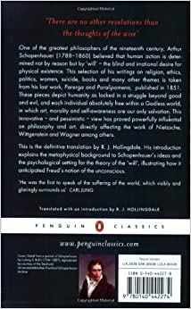 essays and aphorisms schopenhauer Essays and aphorisms (penguin classics) [arthur schopenhauer, r j hollingdale] on amazoncom free shipping on qualifying offers this selection of thoughts on religion, ethics, politics, women, suicide, books, and much more is taken from schopenhauer's last work.