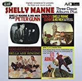 Shelly Manne Three Classic Albums Plus (Peter Gunn / Son Of Gunn / Bells Are Ringing)