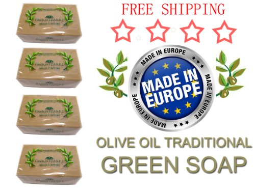 Papoutsanits Olive Oil Soap 4 X 125Gr