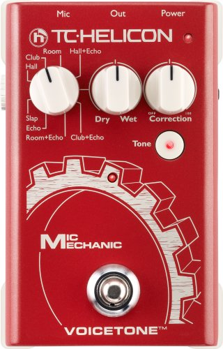 Tc Helicon Voice Tone Mic Mechanic Vocal Effects Processor