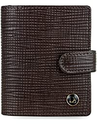 Da Milano Brown Men's Wallet (CEC-304BROWNITP)