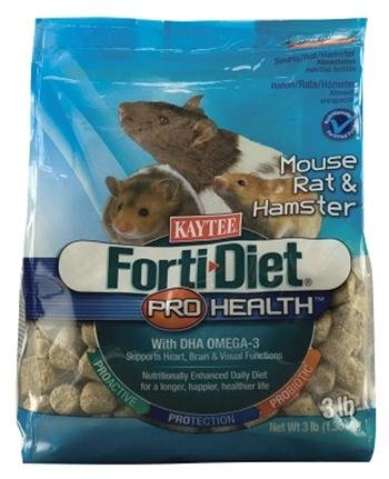 Forti-Diet Pro Health Mouse & Rat Food, 3 Lb Bag