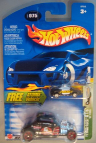 Hot Wheels 2003 Flying Aces II '32 Ford BLACK Atomix 1/5 # 075