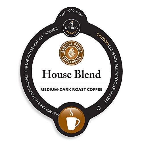 Barista Prima House Blend, Vue Cup Portion Pack for Keurig Vue Brewing Systems (72 Count) (Keurig Barista House Blend compare prices)