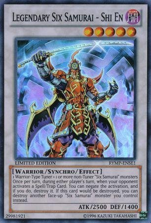 Yu-Gi-Oh! Promo Cards - Legendary Six Samurai - Shi En - RYMP-ENSE1 - Super Rare by Konami