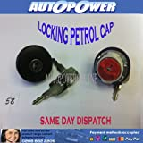 LOCKING FUEL FILLER CAP for FIAT PANDA 750 1986 on