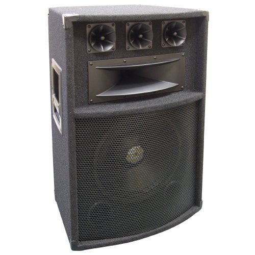 Pyle Padh1289 600 Watts 12-Inch 5-Way Pa Speaker Cabinet