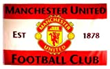 Manchester United F.C Flag 5ft x 3ft (est 1878)