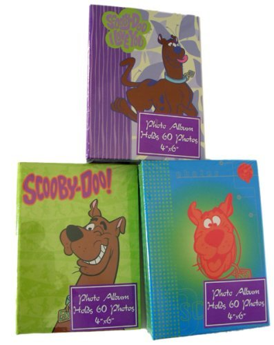 Cartoon Network Character Photo Album - set of 3 Scooby Doo picture albums