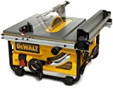 DEWALT DW745 Heavy Duty 10-inch Compact Job Site Table Saw with 16-inch Max Rip Capacity