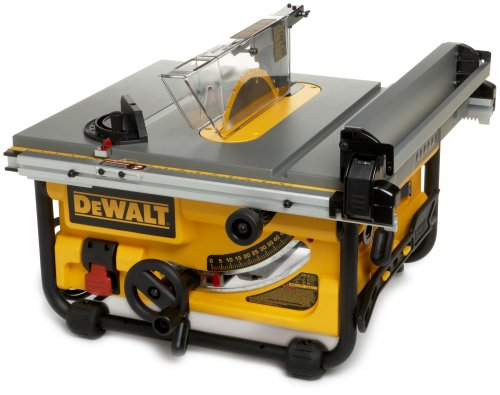 DEWALT DW745 Heavy-Duty 10-Inch Compact Job-Site Table Saw with 16-Inch Max Rip Capacity