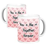 ToduGift You and me together forever Ceramic Mug