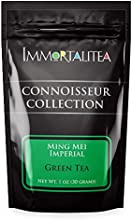 Ming Mei Imperial  Green Tea  Fresh Loose Leaf  Immortalitea Connoisseur Collection  30 Grams