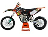 NuoYa005 NEW 1:12 Automax KTM 450 SXF SX-F 09 MOTOCROSS Diecast Motorcycle Racing Model
