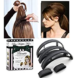 Out Of Box Hair clip Volumizing Puff Maker Party Hairdos Women hair clip Hair Style Maker- Set Of 5