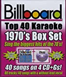 Various Artists Billboard Top 10 Karaoke: 1970's Box Set