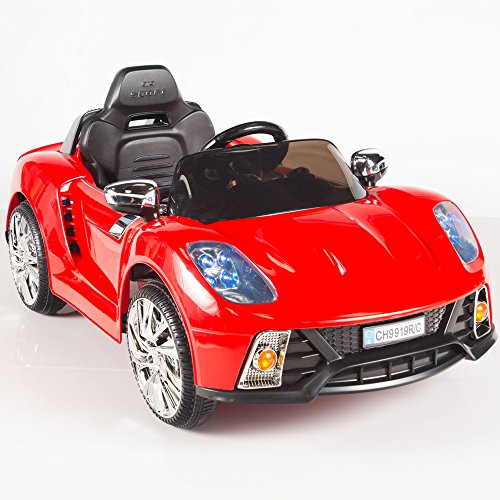 Kids 12V Ride On Car W/ MP3 Electric Battery Power Remote Control RC Red