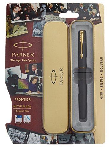 parker-gt-fp-frontier-stylo-plume-noir-mat