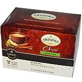 Twinings, Keurig Brewed, Black Tea, Spiced Apple Chai, 12 K-Cup Packs