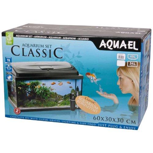 Aquael-Aquarium-CLASSIC-60er-Set-gewlbtoval-schwarz