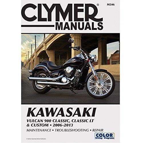 Clymer Kawasaki Vulcan 900 Classic, Classic LT & Custom (2006-2013) (Kawasaki 900 Vulcan Custom compare prices)