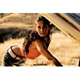 """Transformers - Movie Poster (Megan Fox Leaning Under Hood) (Size: 36"""" x 24"""")"""