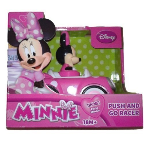 Disneys Minnie Mouse Push and Go Racer Car, Lark, Amuse, Trifle, Twiddle