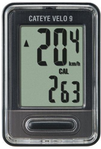 CatEye Velo 9 Bicycle Computer CC-VL820 (Black)