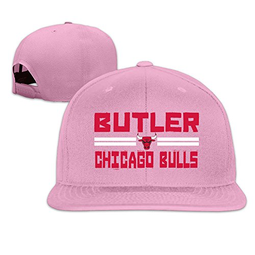 Custom Unisex-Adult Jimmy Player Butler Flat Bill Hip Hop Cap Hats Pink (Customized Timberland Boots compare prices)