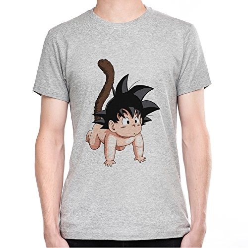 Baby-Son-Goku-Fan-Art-Camiseta-Para-Hombre-XX-Large