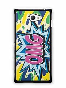 YuBingo OMG Designer Mobile Case Back Cover for Sony Xperia M2