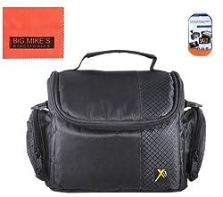 Deluxe Soft Small Camera Case For Canon Digital EOS Rebel SL1, T1i, T2i, T3, T3i, T4i, T5, T5i, T6i, T6s, EOS 60D, EOS 70D, 50D, 40D, 30D, EOS 5D, EOS 5Ds, EOS 5D Mark III, EOS 6D, EOS 7D, EOS 7D Mark II, EOS-M Digital SLR Cameras