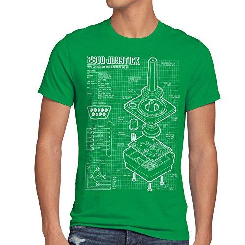 style3-2600-vcs-console-videogiochi-cianografica-t-shirt-da-uomo-joystick-retrogaming-dimensionexlco