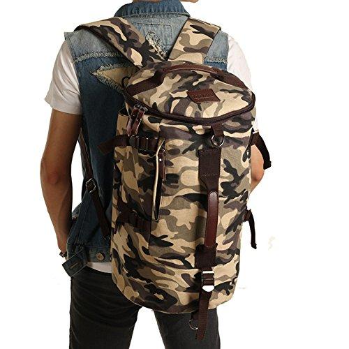 Grand sac à dos / toile de capacité / extérieur / sac à main / hommes occasionnels sac / sac de messager de sac-camouflage 1 Gros