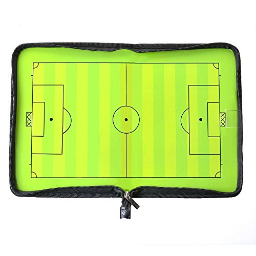 AGPtEK Football /Soccer Coach Magnetic board Winning strategy board with Marker pieces (Football Coach Board compare prices)