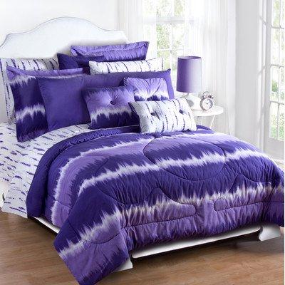 Purple Tie Dye Bedding 172804 front