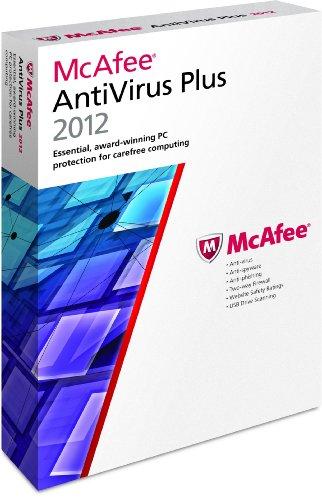 McAfee PC Attach AntiVirus Plus 1 User 2012
