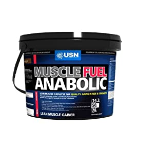 USN Muscle Fuel Anabolic 4000 g Chocolate Lean Muscle Gain Shake Powder